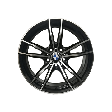 Imagen de BMW-M791 18X8-5X120-ET30(CB72.6) MF BLACK
